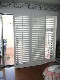 sliding window blinds wooden patio door wood blind inserts look
