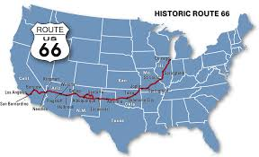 San Bernardino Ca Map Route 66 Map Route 66 Map Route 66 Map How Long To Drive Route