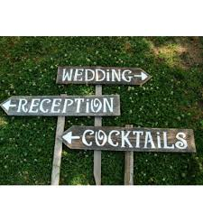 wedding signs diy diy vintage wood trick for wedding signs ewedding