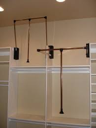 How To Build Closet Shelves Clothes Rods by Hanging Closet Rod From Ceiling Roselawnlutheran