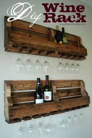 the kurtz corner diy rustic wine rack