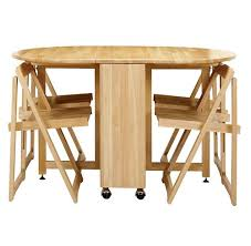 Folding Wood Card Table Wooden Folding Table And Chairs Set Smart Furniture