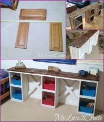 Diy Door Desk Diy Cupboard Door Desk Tutorial