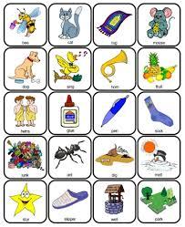 printable rhyming words fran s freebies rhyming bees home education resources