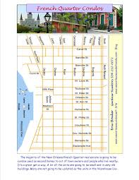 French Quarter Map New Orleans by New Orleans Real Estate Starting Your Search