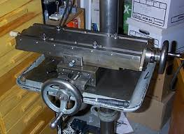 drill press milling table my father s homemade milling machine