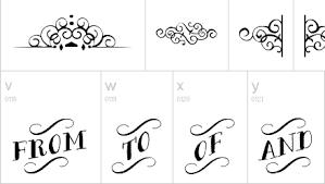 3 15 background dan font untuk desain bergaya papan tulis kapur