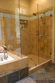 bathroom master plans with walk shower along bathtub bath bed