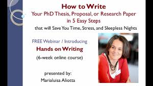 steps to write a research paper how to write your phd thesis proposal or research paper in 5 how to write your phd thesis proposal or research paper in 5 easy steps on vimeo