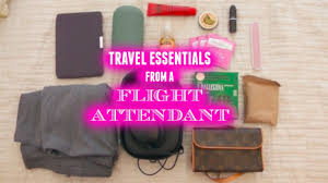 10 Must Travel Essentials For by Must Travel Essentials From A Flight Attendant