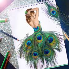 peacock creative pencil sketch images drawing of sketch