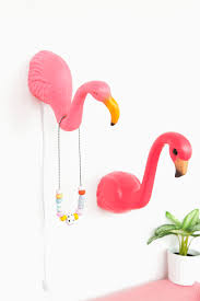 Bird Hooks Home Decor Pink Flamingo Bird Metal Garden Statue Stake Yard Art Lawn