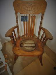 Recaning A Chair Antique 1890 S Rocking Chair Before Repairs And Recaning Chair