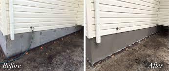 Parge Basement Walls by Parging U0026 House Foundation Repairs London Ontario