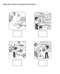 print and learn picture sequence worksheets free printable