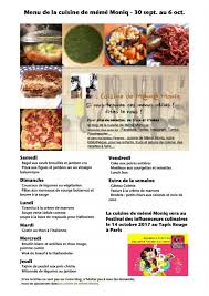 cuisiner le dimanche pour la semaine menus du 30 septembre au 6 octobre dans la cuisine de mémé moniq