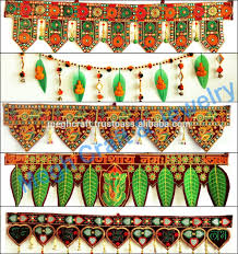 Diwali Home Decorations Gujarati Home Decor Wall Hanging Elephant Theme Door Hanging