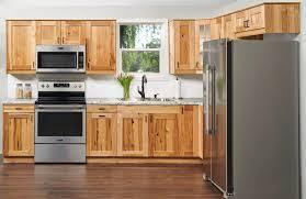 hickory grey stained kitchen cabinets trävik hickory klëarvūe cabinetry
