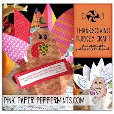 a craft make a scrapbook paper thanksgiving