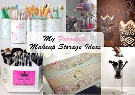 my favourite makeup storage ideas yellow elephant beauty