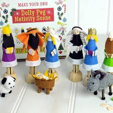 make your own dolly peg nativity by teacosy home