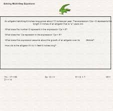 Multi Step Equations Worksheets How Do You Solve Multi Step Equations