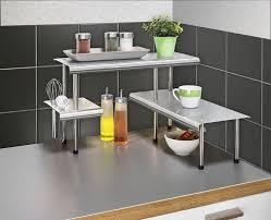 eckregal küche wenko 2035030500 küchen eckregal massivo trio mit 3 ablagen