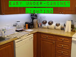 small under cabinet lights easy under cabinet lighting 4 steps