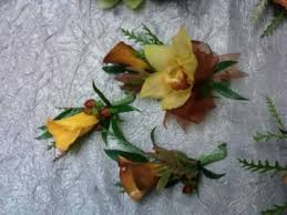 Corsage And Boutonniere For Prom Earthly Corsages Boutonniere Wedding Prom In Chicopee Ma Golden