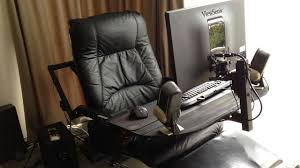 Recliner Computer Chair Computer In Leather Recliner Workspace Lifehacker Australia