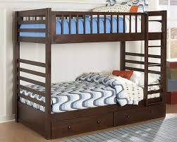 Hardwood Bunk Bed The Most Attractive Solid Wood Bunk Beds Intended For Property