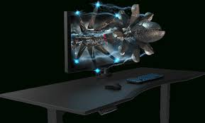 gaming desk evodesk pertaining to contemporary property pc desks