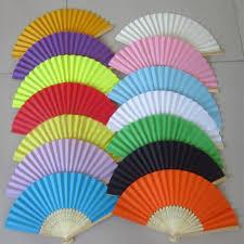 wedding fans in bulk chinese hand paper fans pocket folding bamboo fan wedding hand fans