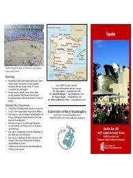 spain travel brochure template 3 free templates in pdf word samp