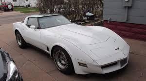 1981 white corvette 1981 corvette original l81 43k pinstripes white on