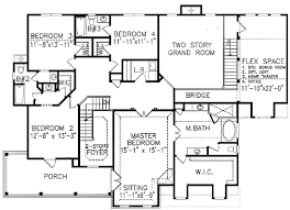 4 Bedroom Two Storey House Plans Two Story 6 Bedroom House Plans Christmas Ideas Home