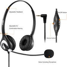 panasonic kx t7735 manual amazon com arama telephone headset with microphone wired phone