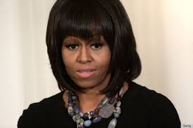 ms obamas hair new cut michelle obama on ditching her bangs it s hard to make speeches
