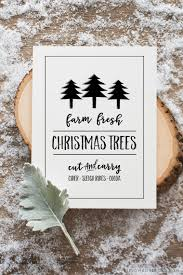 farm fresh christmas trees free printable free printable