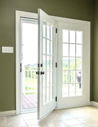 Center Swing Patio Doors Center Hinged Patio Door Lowes With Blinds Hegemonia Info