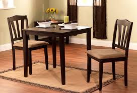 3 Pc Kitchen Table Sets by Tms 3pc Metropolitan Dining Set In Espresso Finish
