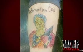 kindergarten cop tattoos