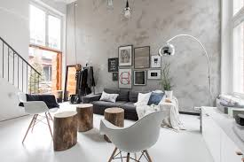 scandinavian style living room loft living with scandinavian style home scene journal