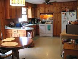 kitchen paneling ideas stunning knotty pine paneling ideas exle of a mid sized