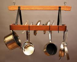 lighted hanging pot racks kitchen kitchen small hanging pot rack canning pots and racks pot racks