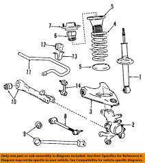 lexus sc430 for sale hawaii lexus toyota oem 4853080037 02 04 sc430 rear suspension strut