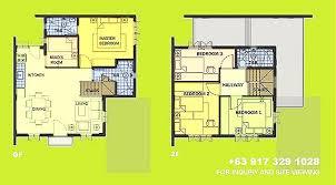 Camella Homes Drina Floor Plan Elaisa House For Sale In Vista City Daang Hari