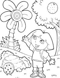 kidscolouringpages orgprint u0026 download printable dora coloring