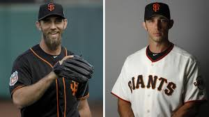 san francisco giants pitcher madison bumgarner cuts hair shaves