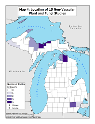 Adrian Michigan Map by Mich Acad Of Science Arts And Letters Botany Research Guide